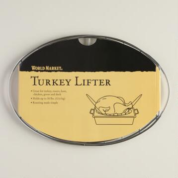Nifty Lifter Roasting Rack with Handles