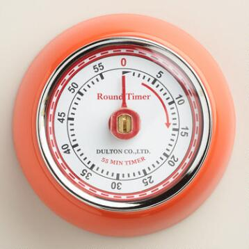 Orange Retro Magnetic Timer