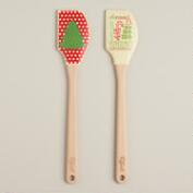 Spatulart Holiday Spatulas, Set of 2