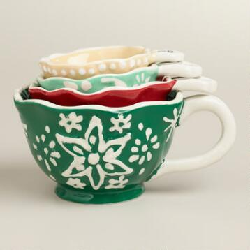 Snowflake  Measuring Cups