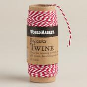 Red and White Baker's Twine Spool