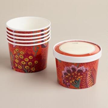 To-Go Cup Leftover Containers, 6-Pack