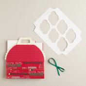 Holiday Cupcake Carrier Gift Box