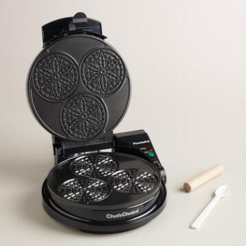 Chef's Choice Pizzelle Pro Express Bake Cookie Maker