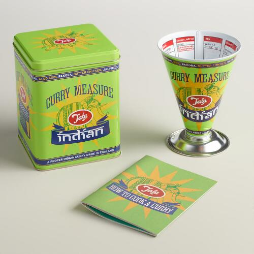 Green Thali Curry Measure