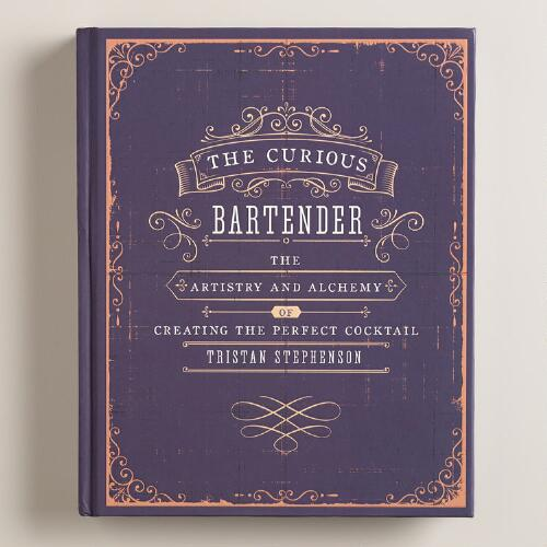 """The Curious Bartender"" Cocktail Recipe Book"