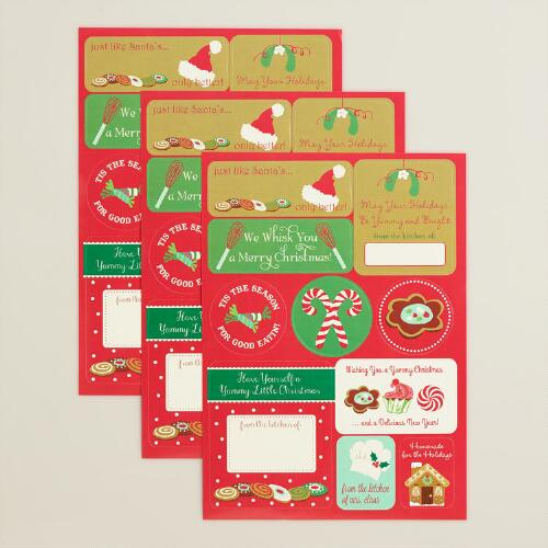 Holiday Labels, 25-Count