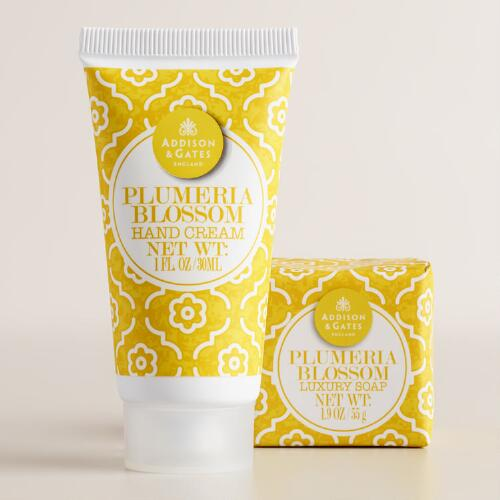 A&G Plumeria Blossom Mini Bar Soap and Lotion Collection