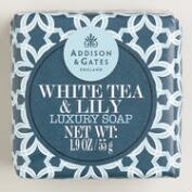 A&G Mini White Tea & Lily Soap
