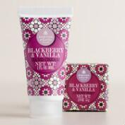 A&G Blackberry Mini Bar Soap and Body Lotion Collection