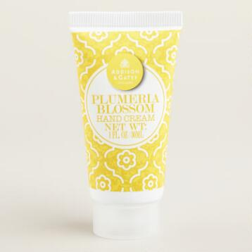 A&G Mini Plumeria Blossom Hand Cream, Set of 4