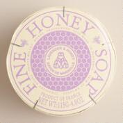 Honey and Lavender Soap in Wood Gift Box