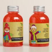 Season's Greetings Vanilla Mint Bubble Bath, Set of 2