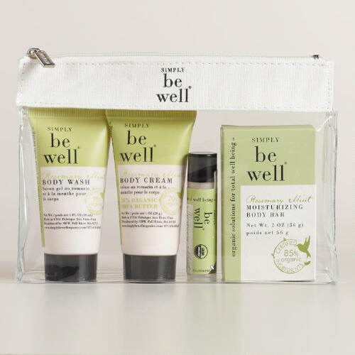 Be Well Rosemary Mint Travel Kit
