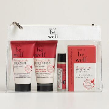 Be Well Pomegranate Travel Kit