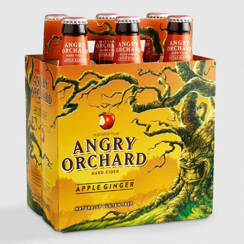 Angry Orchard Apple Ginger Cider, 6-Pack