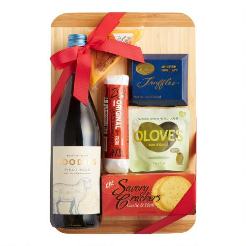 A Cut Above Wine Gift Basket
