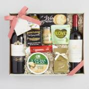 Savory Two-Bottle Wine Basket