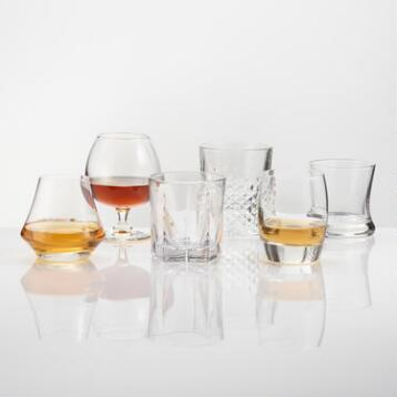 Perfect Collection Spirits Glasses, Set of 6
