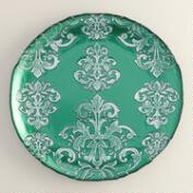 Green Buon Natale Serving Platter
