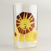 Acrylic Lion Tumbler, Set of 4