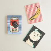 Andy Warhol Journals, Set of 3