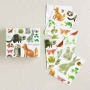 Forest Friends Notecards, Set of 20