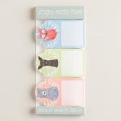 Woodland Creatures Sticky Notes