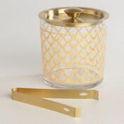 Gold Winter Soiree Ice Bucket