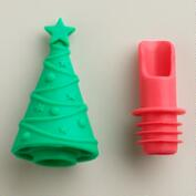 Christmas Tree 2 In 1 Wine Pourer and Stopper
