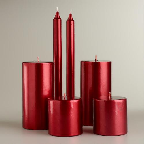 Red Value Pack Candles