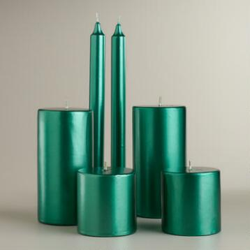 Green Value Pack Candles