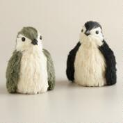 Natural Fiber Penguins, Set of 2