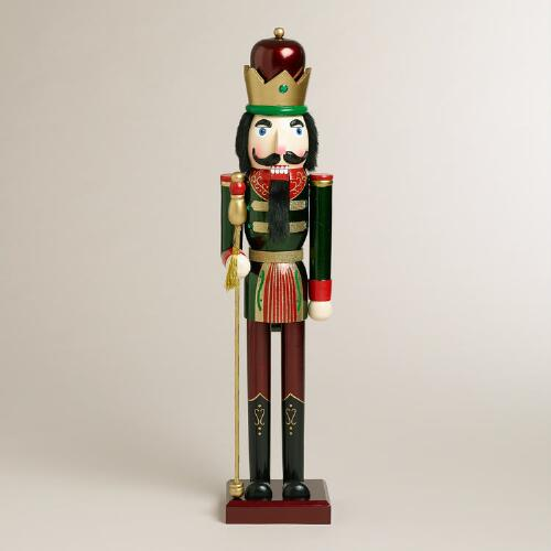 Green Extra-Large Traditional Nutcracker