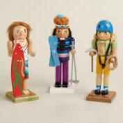 Outdoor Sport Nutcrackers, Set of 3