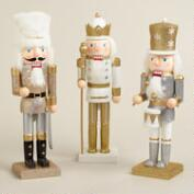 Glittered Traditional Nutcrackers