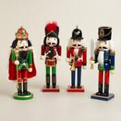 Traditional Nutcrackers - Set of 4