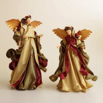 Traditional Fabric Angel Decor