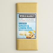 World Market® Ginger & Lemon White Chocolate, Set of 2