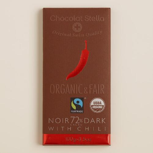 Stella Bernrain Chili Dark Chocolate Bar