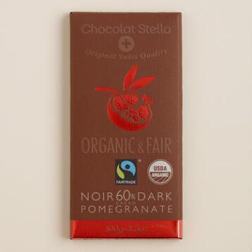 Stella Bernrain Pomegranate Dark Chocolate Bar