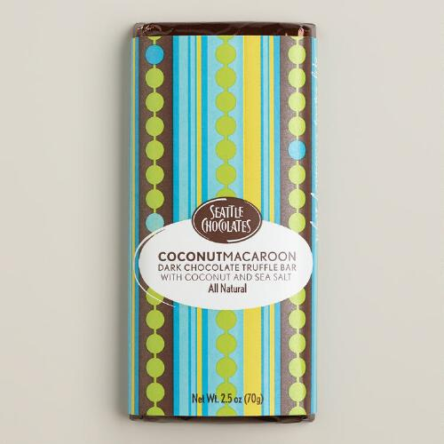 Seattle Chocolates Coconut Macaroon Truffle Bar