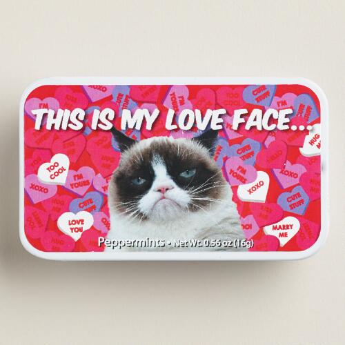 Amusemints Grumpy Cat Mint Tin