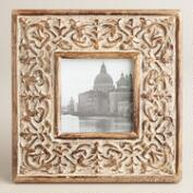 White Square Medallion Rhian Frame