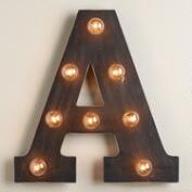 'A' Marquee Light