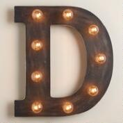 'D' Marquee Light