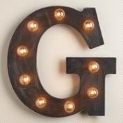 'G' Marquee Light