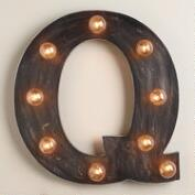 'Q' Marquee Light