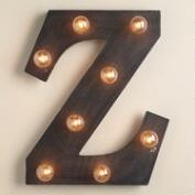 'Z' Marquee Light