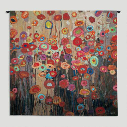 """""""Parade"""" by Don Li-Leger Wall Tapestry"""